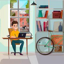 Стойки за велосипеди за дома