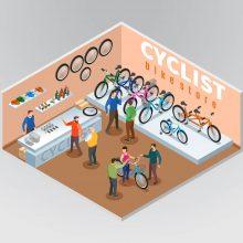 Стойки за велосипеди за магазини